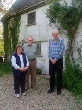 Ginny and Paul Broomhead with Peter Rodgers