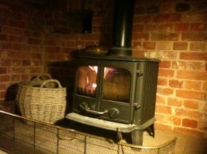 New Morso wood burning stove