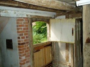 Pine farm door made by Paul