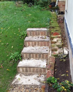 Steps, and more of the old footings